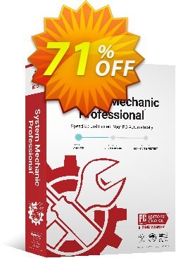 iolo System Mechanic Pro Coupon discount iolo's 60% off 2019 New Year campaign - Massive New Year coupon: 70% off, Df: AF50iolo