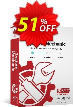 System Mechanic 15 Month Coupon, discount 3 months extra - FREE. Promotion: staggering promotions code of System Mechanic 15 Month 2019