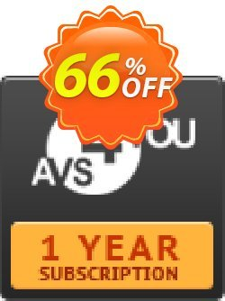 AVS4YOU One Year Subscription Coupon discount . Promotion: AVS4U Autumn Sale (Before Code: Couponism25)