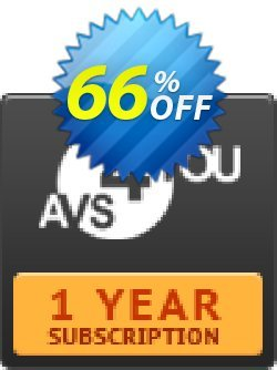 AVS4YOU One Year Subscription Coupon, discount . Promotion: AVS4U Autumn Sale (Before Code: Couponism25)