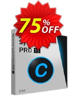 Advanced SystemCare 13 PRO - 3 PCs With Ebook  Coupon discount 72% OFF Advanced SystemCare 13 PRO (3 PCs With Ebook) Oct 2021 - Dreaded discount code of Advanced SystemCare 13 PRO (3 PCs With Ebook), tested in October 2021