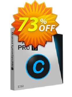 Advanced SystemCare 13 PRO Coupon discount Advanced SystemCare 13 PRO (1 year/ 1 PC)- Exclusive Amazing promotions code 2021 - Advanced SystemCare PRO discount (df: IVS-IOBIT)