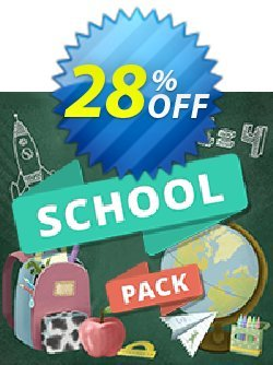 Movavi effect School Pack Coupon discount School Pack fearsome sales code 2019. Promotion: fearsome sales code of School Pack 2019