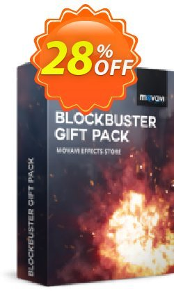 Movavi effect Blockbuster Gift Pack Coupon discount Blockbuster Gift Pack formidable offer code 2020. Promotion: formidable offer code of Blockbuster Gift Pack 2020