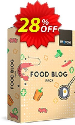 Movavi effect Food blog Pack Coupon discount Food blog Pack wondrous discount code 2020 - wondrous discount code of Food blog Pack 2020