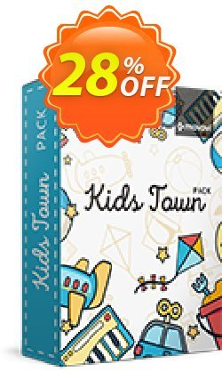 Movavi Effect Kids Town Pack Coupon, discount Kids Town Pack Hottest discount code 2021. Promotion: Hottest discount code of Kids Town Pack 2021