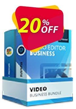 Video Bundle Business: Video Editor Business + Video Converter Premium Coupon discount Video Bundle Business Formidable offer code 2021 - Formidable offer code of Video Bundle Business 2021