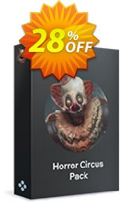 Movavi Effect Horror Circus Pack Coupon discount Horror Circus Pack Fearsome offer code 2020. Promotion: Fearsome offer code of Horror Circus Pack 2020