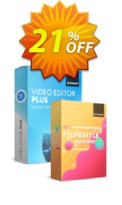 Movavi Video Editor Plus + Lifestyle Blogger Pack Coupon discount Video Editor Plus + Lifestyle Blogger Pack Exclusive sales code 2020 - Exclusive sales code of Video Editor Plus + Lifestyle Blogger Pack 2020