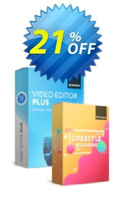 Movavi Video Editor Plus + Lifestyle Blogger Pack - for Mac  Coupon discount Video Editor Plus for Mac + Lifestyle Blogger Pack Awful offer code 2020 - Awful offer code of Video Editor Plus for Mac + Lifestyle Blogger Pack 2020