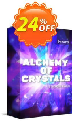 Movavi effect: Alchemy of Crystals Sticker Pack Coupon, discount Alchemy of Crystals Sticker Pack Excellent offer code 2020. Promotion: Excellent offer code of Alchemy of Crystals Sticker Pack 2020