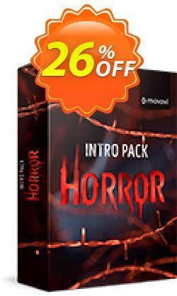 Movavi effect: Horror Intro Pack Coupon discount Horror Intro Pack Super discounts code 2020. Promotion: Super discounts code of Horror Intro Pack 2020