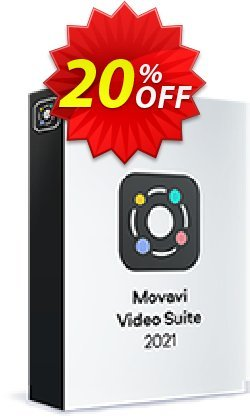 Movavi Video Suite Business - 1 year License  Coupon, discount 20% OFF Movavi Video Suite Business (1 year License), verified. Promotion: Excellent promo code of Movavi Video Suite Business (1 year License), tested & approved