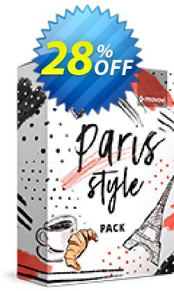 Movavi effect: Paris Style Pack Coupon discount Paris Style Pack Dreaded promotions code 2020 - Dreaded promotions code of Paris Style Pack 2020