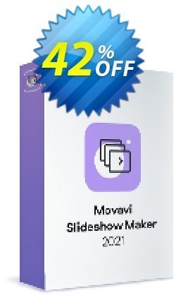 Movavi Slideshow Maker Coupon, discount 15% Affiliate Discount. Promotion: amazing promo code of Movavi Slideshow Maker – Personal 2021