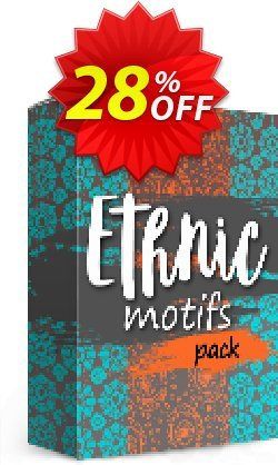 Movavi effect: Ethnic Motifs Pack Coupon discount Ethnic Motifs Pack Stunning discount code 2020. Promotion: Stunning discount code of Ethnic Motifs Pack 2020