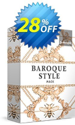 Movavi effect: Baroque Style Pack Coupon, discount Baroque Style Pack Staggering discount code 2021. Promotion: Staggering discount code of Baroque Style Pack 2021