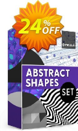Movavi effect: Abstract Shapes Set Coupon, discount Abstract Shapes Set Super discounts code 2021. Promotion: Super discounts code of Abstract Shapes Set 2021
