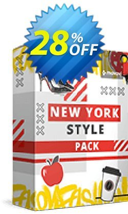Movavi effect: New York Style Pack Coupon, discount New York Style Pack Super deals code 2021. Promotion: Super deals code of New York Style Pack 2021