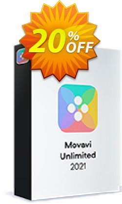 Movavi Unlimited for MAC Coupon, discount 20% OFF Movavi Unlimited for MAC 1-year, verified. Promotion: Excellent promo code of Movavi Unlimited for MAC 1-year, tested & approved