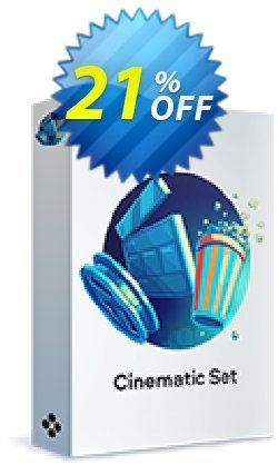 Movavi effect: Cinematic Set - Commercial  Coupon, discount 20% OFF Movavi effect: Cinematic Set (Commercial), verified. Promotion: Excellent promo code of Movavi effect: Cinematic Set (Commercial), tested & approved