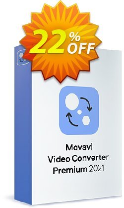 Movavi Video Converter Premium Coupon discount 15% Affiliate Discount - amazing discount code of Movavi Video Converter – Personal 2020