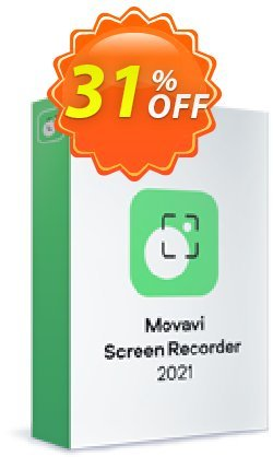 Movavi Screen Recorder Coupon, discount Spring Sale 30% off. Promotion: wondrous offer code of Movavi Screen Recorder – Personal 2021