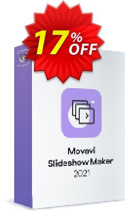 Movavi Slideshow Maker for Mac Coupon, discount 15% Affiliate Discount. Promotion: impressive promo code of Movavi Slideshow Maker for Mac – Personal 2021