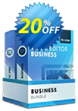 Business Bundle: Video Editor Business + Screen Capture Pro Coupon, discount Business Bundle Impressive sales code 2021. Promotion: Impressive sales code of Business Bundle 2021