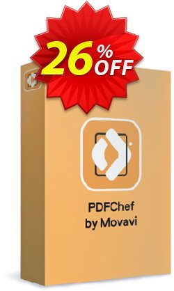 PDFChef by Movavi - 1 year  Coupon discount Movavi PDF Editor – Annual Subscription stirring discount code 2020 - stirring discount code of Movavi PDF Editor – Annual Subscription 2020