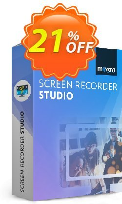 Movavi Screen Recorder Studio - 1 year  Coupon, discount Movavi Screen Recorder Studio – Annual Subscription imposing discount code 2021. Promotion: staggering offer code of Movavi Screen Recorder Studio – Annual Subscription 2021