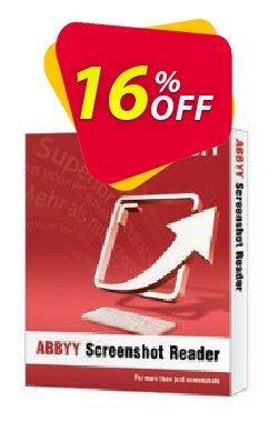 ABBYY Screenshot Reader - Download version Coupon, discount ABBYY Screenshot Reader - Download version wonderful discounts code 2021. Promotion: wonderful discounts code of ABBYY Screenshot Reader - Download version 2021