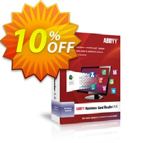 ABBYY Business Card Reader Coupon, discount ABBYY Business Card Reader discount code. Promotion: