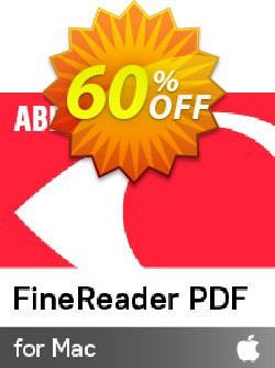 ABBYY FineReader PDF for Mac Coupon discount ABBYY FineReader Pro for Mac super discount code 2020. Promotion: