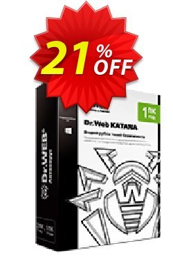 Dr.Web KATANA - 2 Year License  Coupon, discount 20% OFF Dr.Web KATANA, verified. Promotion: Wondrous promotions code of Dr.Web KATANA, tested & approved