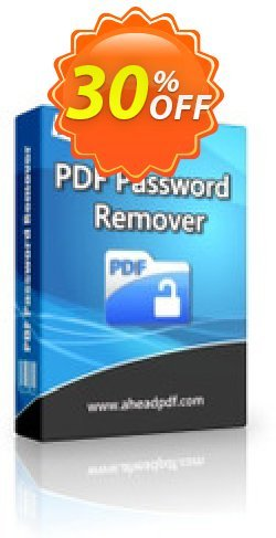 Ahead PDF Password Remover Coupon, discount Ahead PDF Password Remover - Single-User License best offer code 2020. Promotion: best offer code of Ahead PDF Password Remover - Single-User License 2020