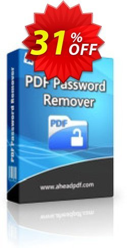 Ahead PDF Password Remover - Multi-User License - 5 Users  Coupon, discount Ahead PDF Password Remover - Multi-User License (Up to 5 Users) big discount code 2020. Promotion: big discount code of Ahead PDF Password Remover - Multi-User License (Up to 5 Users) 2020