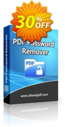 Ahead PDF Password Remover - Multi-User License - 10 Users  Coupon, discount Ahead PDF Password Remover - Multi-User License (Up to 10 Users) hottest promo code 2020. Promotion: hottest promo code of Ahead PDF Password Remover - Multi-User License (Up to 10 Users) 2020
