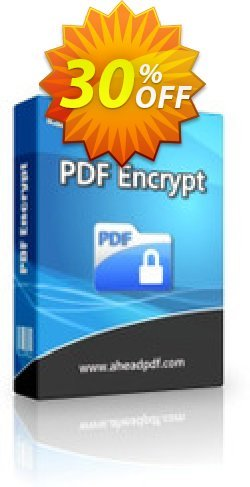 Ahead PDF Encrypt Coupon, discount Ahead PDF Encrypt - Single-User License exclusive promotions code 2019. Promotion: exclusive promotions code of Ahead PDF Encrypt - Single-User License 2019