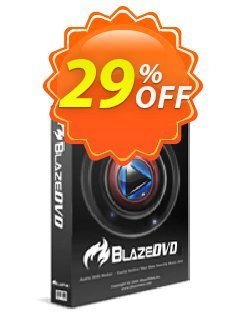 BlazeDVD Pro Coupon, discount Holiday Discount: $14 OFF. Promotion: wondrous offer code of BlazeDVD Professional 2020