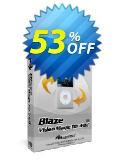 BlazeVideo iPod Video Converter Coupon, discount Save 50% Off. Promotion: wondrous sales code of BlazeVideo iPod Video Converter 2020