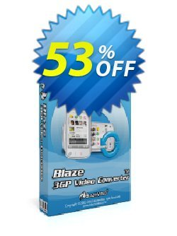 BlazeVideo 3GP Video Converter Coupon, discount Save 50% Off. Promotion: special deals code of BlazeVideo 3GP Video Converter 2020