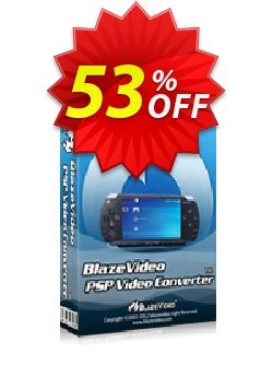 BlazeVideo PSP Video Converter Coupon, discount Save 50% Off. Promotion: wonderful promo code of BlazeVideo PSP Video Converter 2020