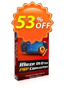 BlazeVideo DVD to PSP Converter Coupon, discount Save 50% Off. Promotion: amazing discounts code of BlazeVideo DVD to PSP Converter 2020