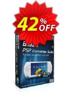 BlazeVideo PSP Converter Suite Coupon, discount Save 42% Off. Promotion: stunning promotions code of BlazeVideo PSP Converter Suite 2020
