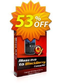 BlazeVideo DVD to BlackBerry Converter Coupon, discount Save 50% Off. Promotion: imposing deals code of BlazeVideo DVD to BlackBerry Converter 2020