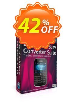 BlazeVideo BlackBerry Converter Suite Coupon, discount Save 42% Off. Promotion: awesome promotions code of BlazeVideo BlackBerry Converter Suite 2020