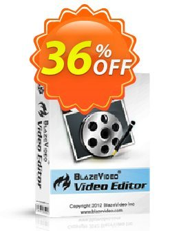 BlazeVideo Video Editor Coupon, discount Holiday Discount: $10 OFF. Promotion: imposing discounts code of BlazeVideo Video Editor 2020