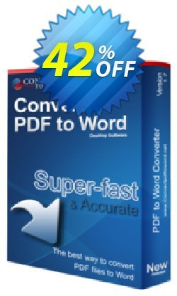 Convert PDF to Word Desktop Software Coupon, discount Convert PDF to Word Desktop Software excellent discounts code 2019. Promotion: excellent discounts code of Convert PDF to Word Desktop Software 2019
