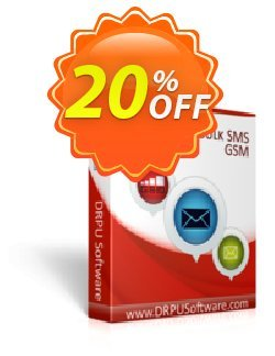 DRPU Bulk SMS Software for GSM Mobile Phones Coupon discount Wide-site discount 2021 DRPU Bulk SMS Software for GSM Mobile Phones - formidable sales code of DRPU Bulk SMS Software for GSM Mobile Phones 2021